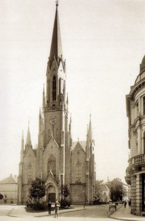 Rembertikirche, ca. 1934, Quelle: St. Remberti-Gemeinde
