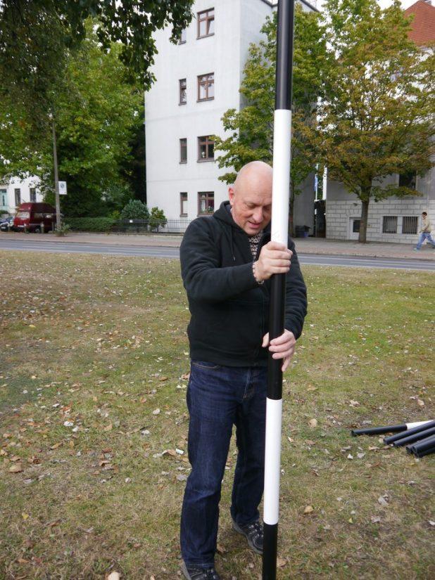 Aufbau - 21.9.2012 | Foto: F. Hoeppe