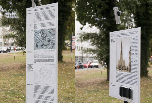 Infotafeln - 21.9.2012 | Foto: H. Schwoerer