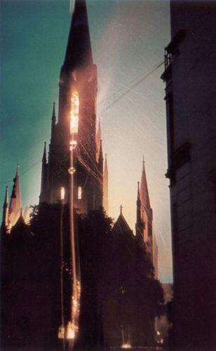 Brand der Remberti-Kirche 4/5 Juni 1942, Quelle: St. Remberti-Gemeinde