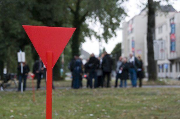 Rote Markierung | Foto: H. Schwoerer