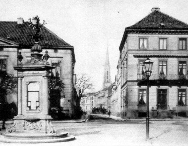 Historische Ansicht von 1890, Quelle: Focke-Museum Bremen