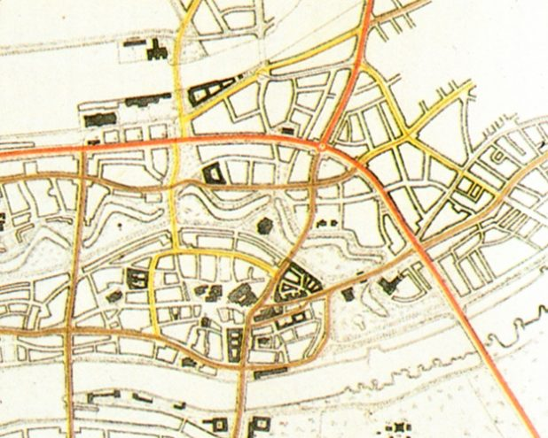 Teilringverbindung des Stadtplanungsamt vom Mai 1948